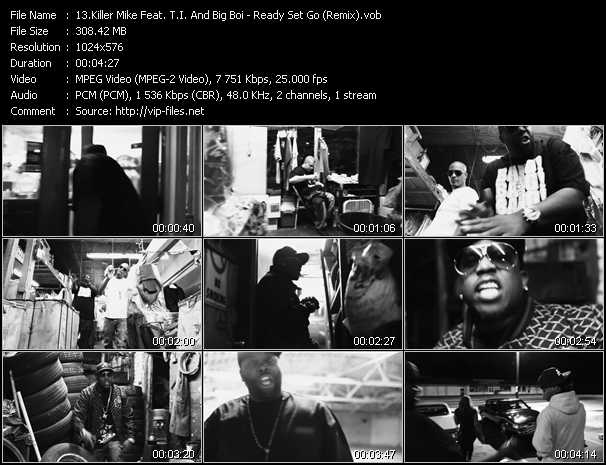 Killer Mike Feat. T.I. And Big Boi Video Clip(VOB) vob