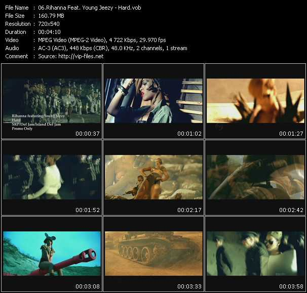 Rihanna Feat. Young Jeezy Video Clip(VOB) vob