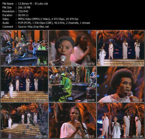 Boney M. Video Clip(VOB) vob