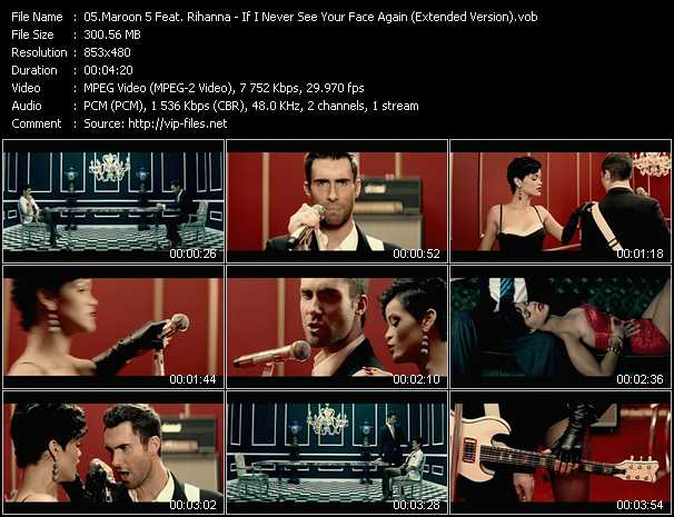 Maroon 5 Feat. Rihanna Video Clip(VOB) vob