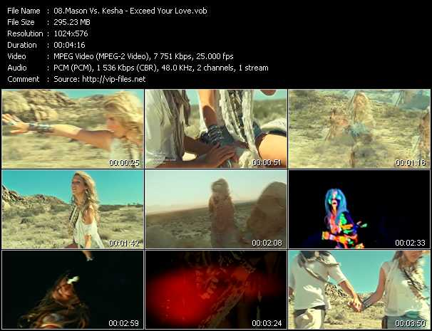 Mason Vs. Kesha Video Clip(VOB) vob