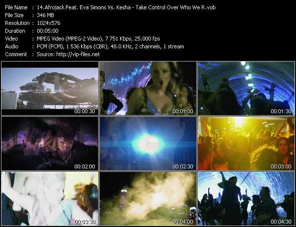 Afrojack Feat. Eva Simons Vs. Kesha Video Clip(VOB) vob