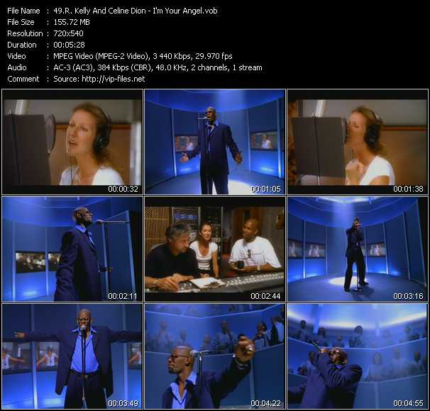 R. Kelly And Celine Dion Video Clip(VOB) vob