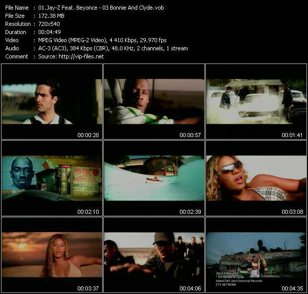 Jay-Z Feat. Beyonce Video Clip(VOB) vob