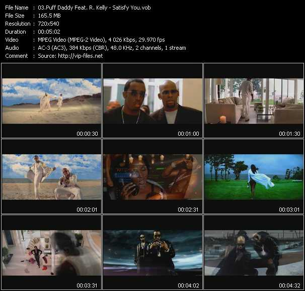 Puff Daddy (P. Diddy) Feat. R. Kelly Video Clip(VOB) vob