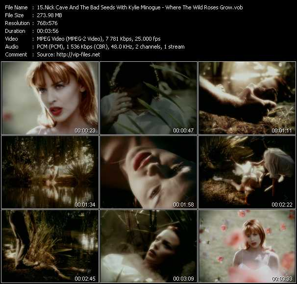 Nick Cave And The Bad Seeds With Kylie Minogue Video Clip(VOB) vob