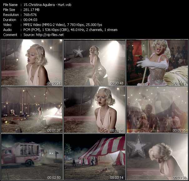 Christina Aguilera Video Clip(VOB) vob