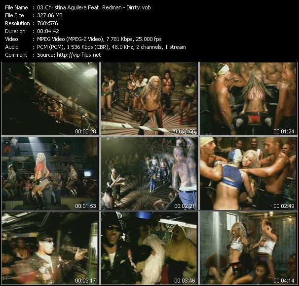 Christina Aguilera Feat. Redman Video Clip(VOB) vob