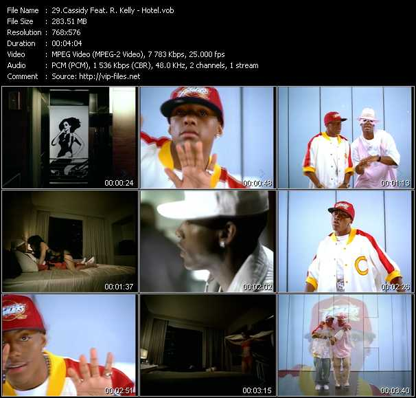 Cassidy Feat. R. Kelly Video Clip(VOB) vob