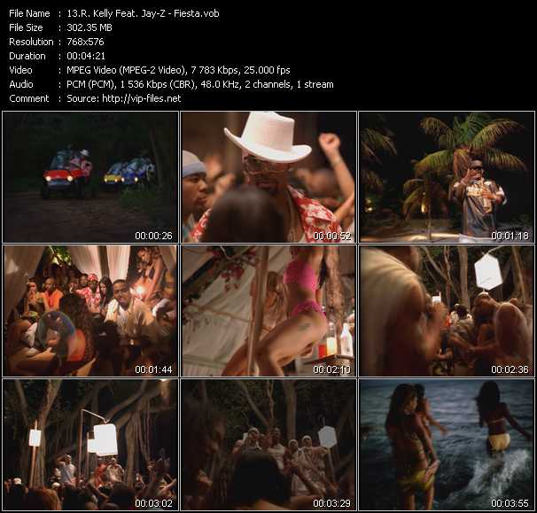R. Kelly Feat. Jay-Z Video Clip(VOB) vob
