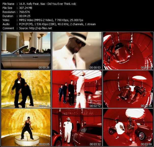 R. Kelly Feat. Nas Video Clip(VOB) vob
