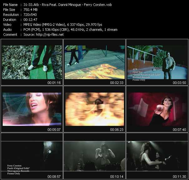 Atb - Riva Feat. Dannii Minogue - Ferry Corsten Video Clip(VOB) vob