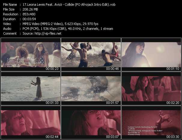 Leona Lewis Feat. Avicii Video Clip(VOB) vob