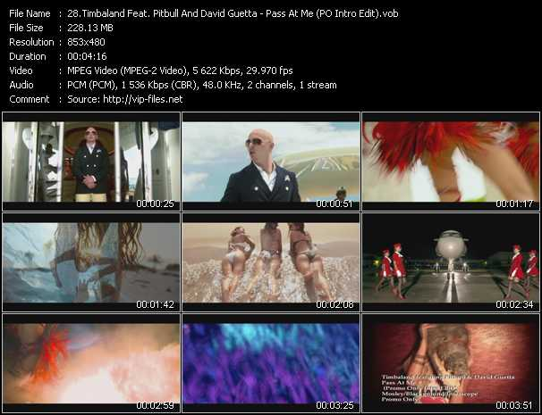 Timbaland Feat. Pitbull And David Guetta Video Clip(VOB) vob