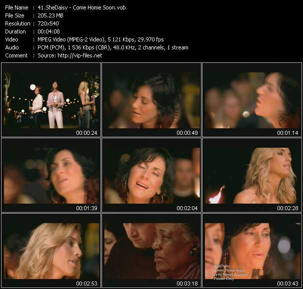 SheDaisy Video Clip(VOB) vob
