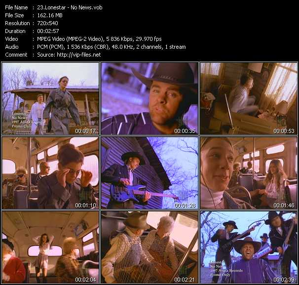 Lonestar Video Clip(VOB) vob