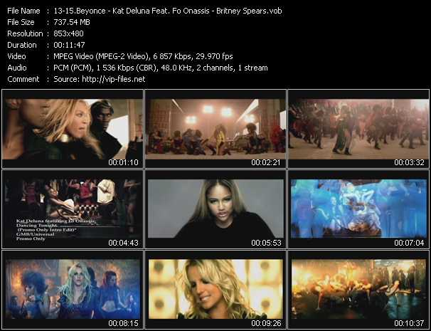 Beyonce - Kat DeLuna Feat. Fo Onassis - Britney Spears Video Clip(VOB) vob