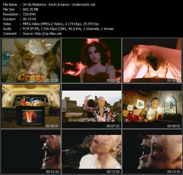 Madonna - Kevin Aviance - Underworld Video Clip(VOB) vob