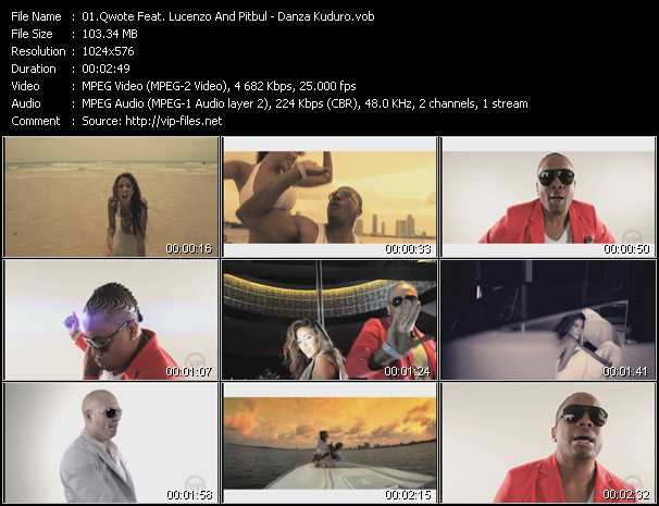 Qwote Feat. Lucenzo And Pitbull Video Clip(VOB) vob