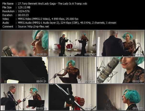 Tony Bennett And Lady Gaga Video Clip(VOB) vob