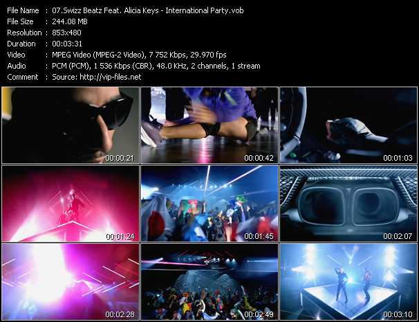 Swizz Beatz Feat. Alicia Keys Video Clip(VOB) vob