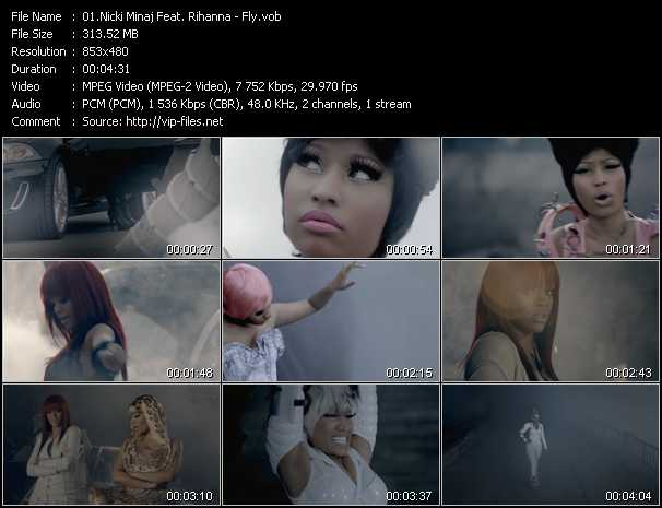 Nicki Minaj Feat. Rihanna Video Clip(VOB) vob