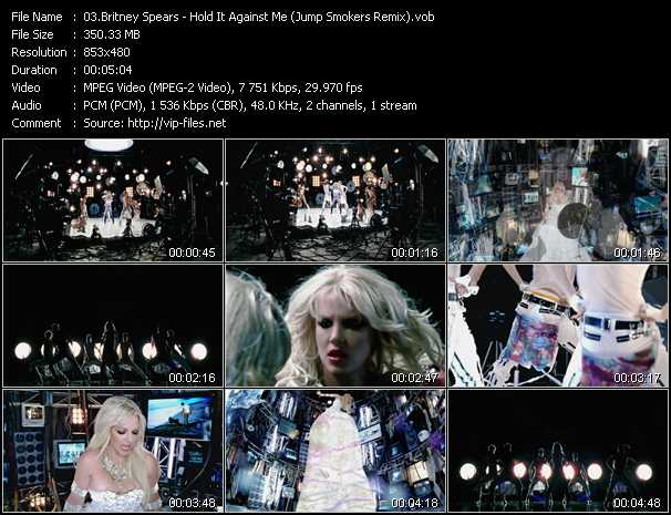 Britney Spears Video Clip(VOB) vob
