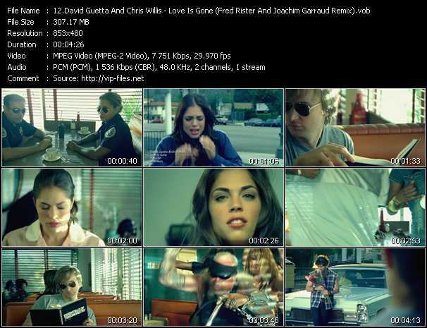 David Guetta And Chris Willis Video Clip(VOB) vob