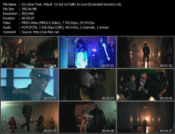 Usher Feat. Pitbull Video Clip(VOB) vob