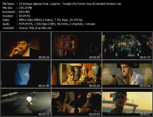 Enrique Iglesias Feat. Ludacris Video Clip(VOB) vob
