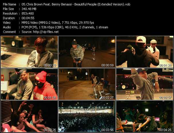 Chris Brown Feat. Benny Benassi Video Clip(VOB) vob