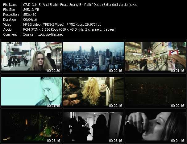 D.O.N.S. And Shahin Feat. Seany B Video Clip(VOB) vob