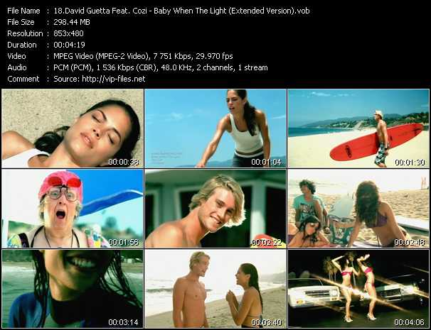 David Guetta Feat. Cozi Video Clip(VOB) vob