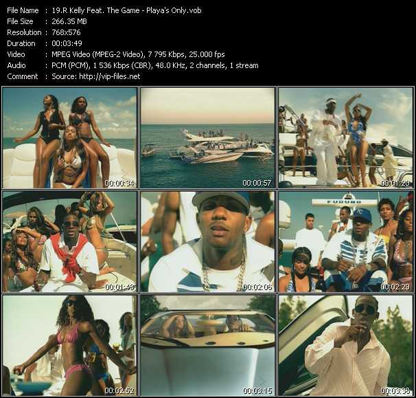 R. Kelly Feat. The Game Video Clip(VOB) vob
