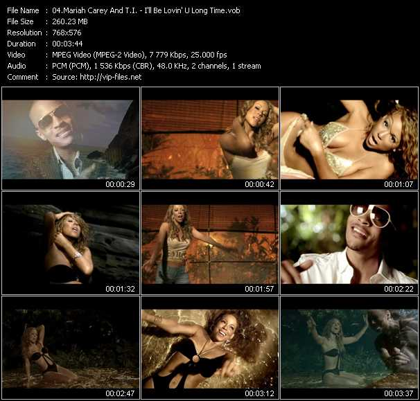 Mariah Carey And T.I. Video Clip(VOB) vob