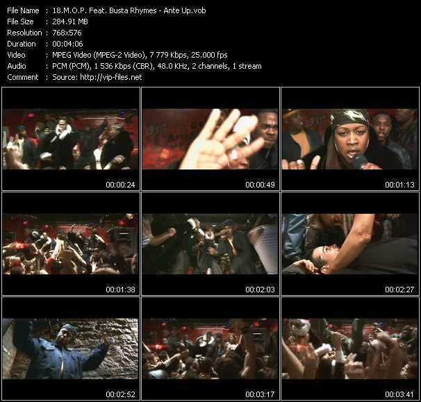 M.O.P. Feat. Busta Rhymes Video Clip(VOB) vob