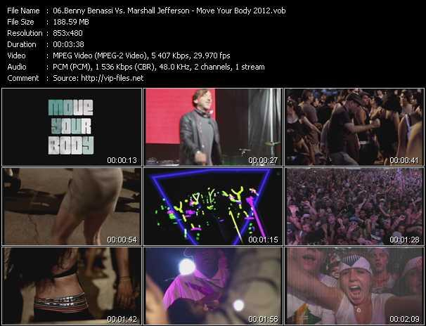 Benny Benassi Vs. Marshall Jefferson Video Clip(VOB) vob