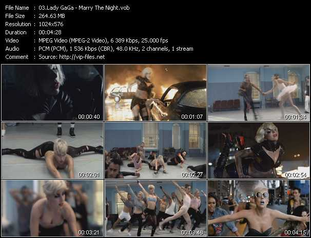 Lady GaGa Video Clip(VOB) vob