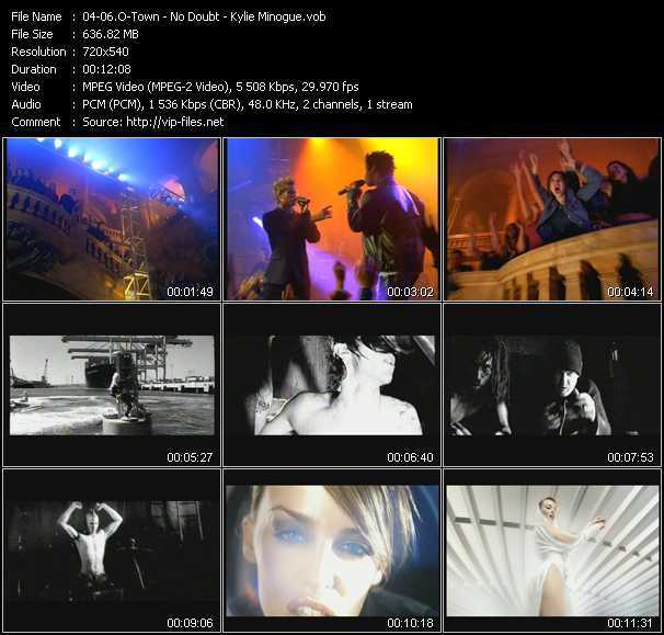 O-Town - No Doubt - Kylie Minogue Video Clip(VOB) vob