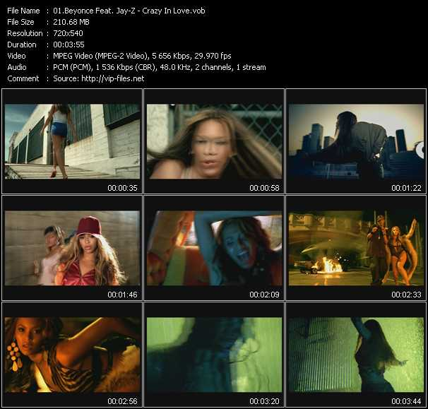 Beyonce Feat. Jay-Z Video Clip(VOB) vob