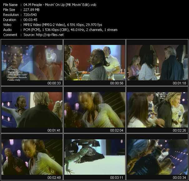 M People Video Clip(VOB) vob