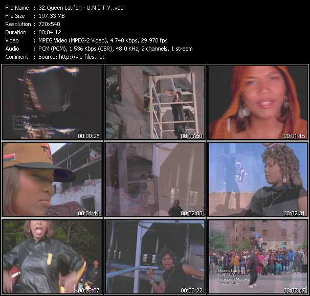 Queen Latifah Video Clip(VOB) vob