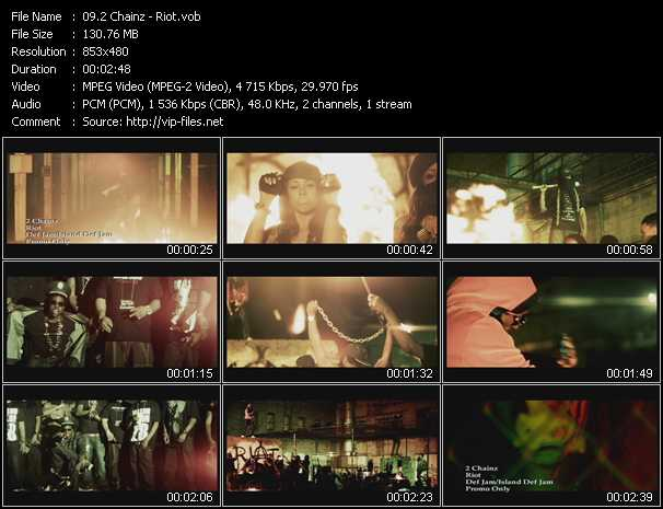 2 Chainz Video Clip(VOB) vob