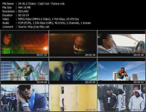 2 Chainz - Cash Out - Future Video Clip(VOB) vob