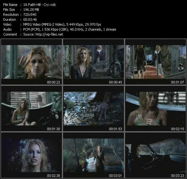 Faith Hill Video Clip(VOB) vob