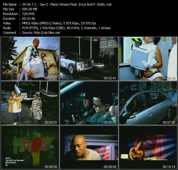 T.I. - Jay-Z - Mario Winans Feat. Enya And P. Diddy (Puff Daddy) Video Clip(VOB) vob