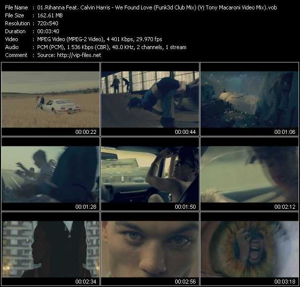 Rihanna Feat. Calvin Harris Video Clip(VOB) vob