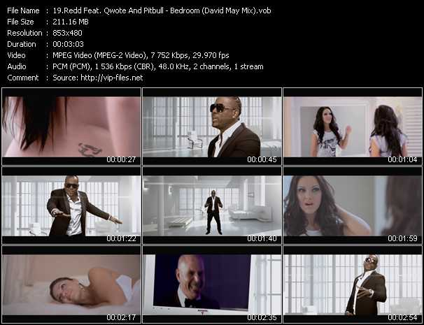 Redd Feat. Qwote And Pitbull Video Clip(VOB) vob