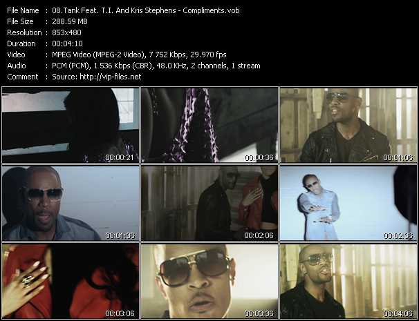 Tank Feat. T.I. And Kris Stephens Video Clip(VOB) vob