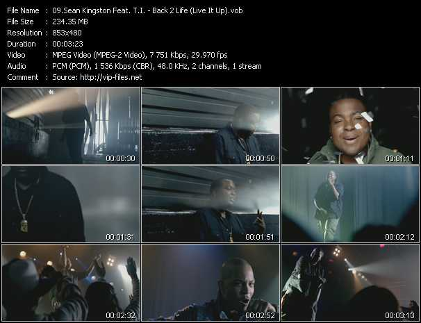 Sean Kingston Feat. T.I. Video Clip(VOB) vob